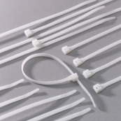 45-104 4IN WHT CABLE TIE BAG/40