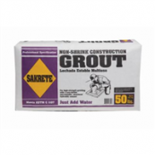 50 LB NON-SHRINK PRECISION GROUT *APPROXIMATELY 1/2 CUBIC FOOT *NON-STAINING FORMULA 30 BAGS PER SKID