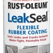 267970 LEAK SEAL SPRY WHITE 12OZ  RUBBERIZED PLASTIC COATING