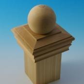 MAINE ORN 4X4 CEDAR BALL CAP     == NEWPORT STYLE, #NC-4       ==