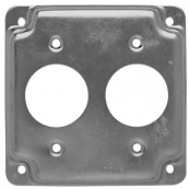 807 2 DUP. 4IN. SQ. COVER