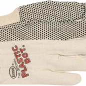 5501 GLOVE 10OZ COTTON PVC DOT