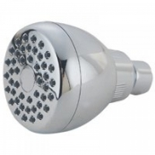 POLY SHOWERHEAD W/RUBBER TIPS