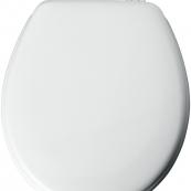 44EC-000 RND WHITE TOILET SEAT