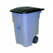 RUBBERMAID 50 GAL TRASH CAN
