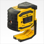 03160 LA-5P Stabila LaserBob 5 Point Laser; Self-leveling; 3 Functions; Visible point range 100'; IP 54 Dust and water rated