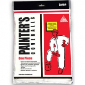 09903 PAINTERS POLY COVERALL LRG