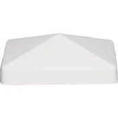AZEK WHT. 4X4 PYRAMID PVC