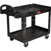 4520-88 BLACK UTILITY CART RUBB-