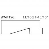 """1-15/16"""" ANDERSEN EXTENSION JAMB WM-1196A """"A"""" GRADE, PINE"""