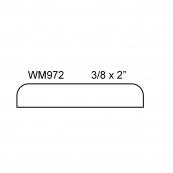 "2"" FLAT MULLION / WM-972A        ""A"" GRADE, PINE"