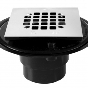 42238 SQUARE SHOWER DRAIN 2OR3IN