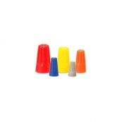 WIRE NUT, ORANGE, 100/BX 10-003