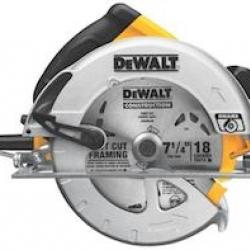 DWE575SB 7-1/4 CIRC SAW W/BRAKE