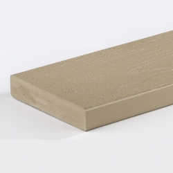 AZEK DECK 5/4X6-16 BROWNSTONE NON-GROOVED