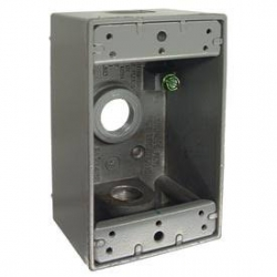5320-0 1G OUTLET BOX   5758-0