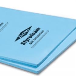 Styrofoam Blue Board 1 Quot 4 X8 Dow R Value 5 0 Square
