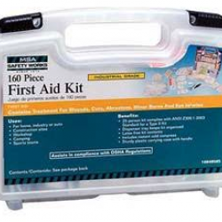 10049585 FIRST AID KIT 160 PIECE