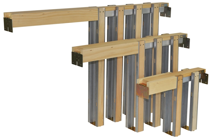 153068HD POCKET DOOR FRM 3/0X6/8 1500 SERIES W/200LB HANGERS | TWPerry