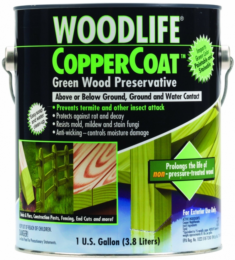 1901a gal woodlife coppercoat gr wood preservative twperry - Exterior wood treatment products ...
